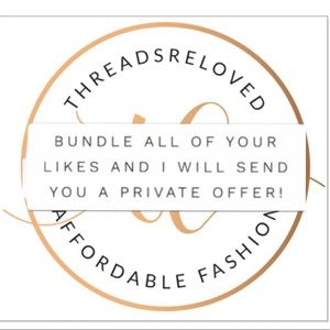 Tops - Bundle your likes and I'll send u a private offer!
